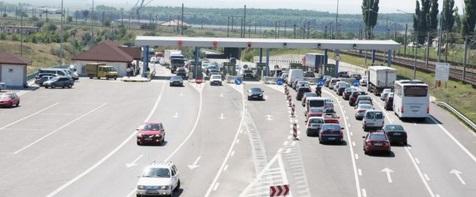 Sistemul electronic de plata pe podul de la Fetesti intra in vigoare peste 6 zile. La 7577 soferii vor trimite SMS pentru efectuarea platii