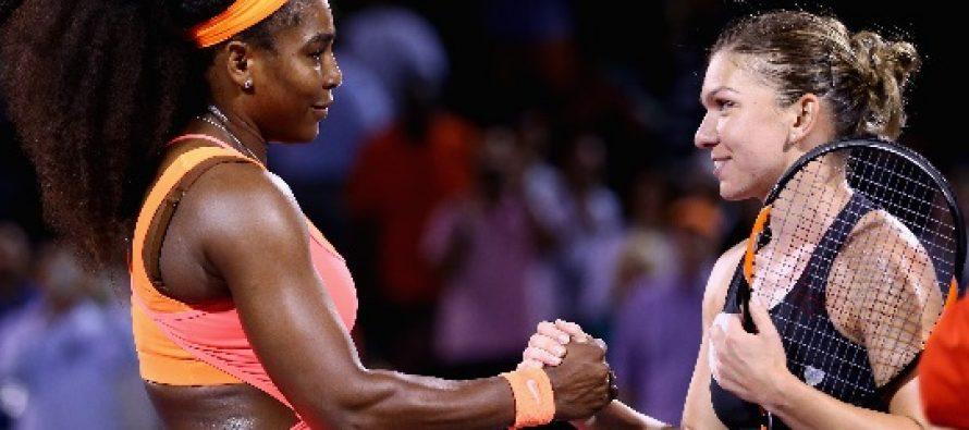 SIMONA HALEP a fost invinsa de Serena Williams in semifinalele de la Miami