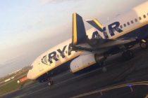 Un nou incident pe Aeroportul Otopeni cu un avion Ryanair care decolase de la Bucuresti spre Milano
