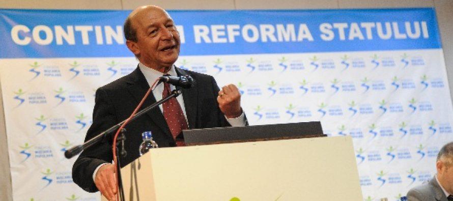 Basescu: Sansa Rep. Moldova de a ajunge in UE este unirea cu Romania