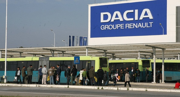 Concedieri la Dacia Mioveni, sute de angajati vor fi disponibilizati