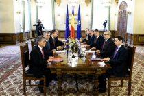 Consultari intre Klaus Iohannis si partide pe tema noilor legi electorale