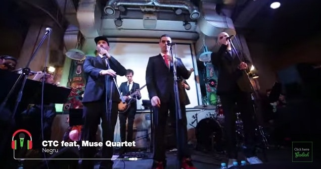 CTC vs Muse Quartet & Silviu Pasca Band - Negru. Ce se intampla cand rap-ul se combina cu muzica clasica. VIDEO