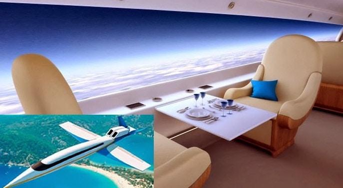S-512, avionul viitorului! Cum arata Spike S-512, primul avion supersonic de business din lume