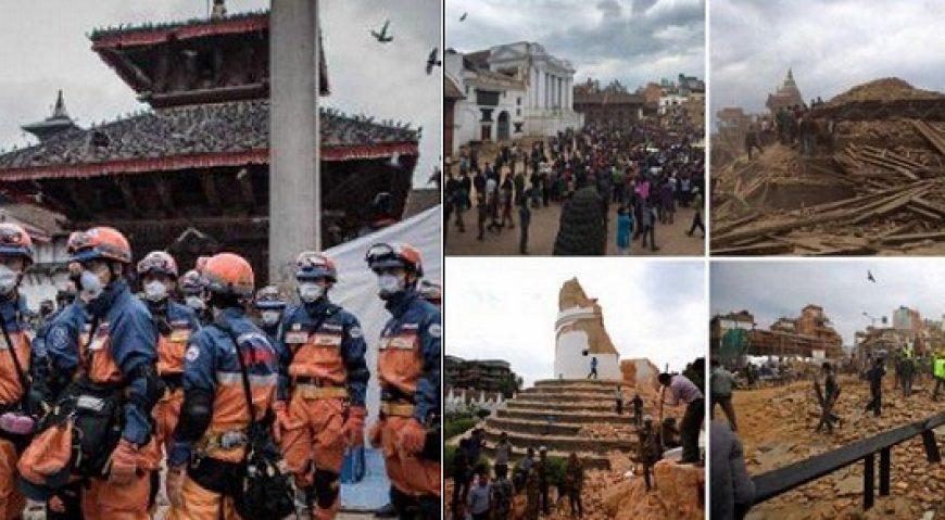 Bilantul cutremurului din Nepal