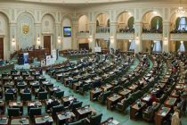 Sedinta Senatului a fost blocata de Opozitie, care a parasit sala in semn de protest fata de declaratia transmisa de Parlament catre SUA