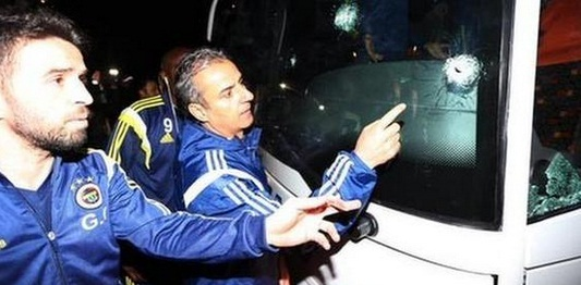 Incident cu autocarul echipei Fenerbahce Istanbul