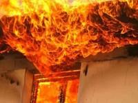 Incendiu la Spitalul CFR Simeria, bolnavii si medicii au fost evacuati