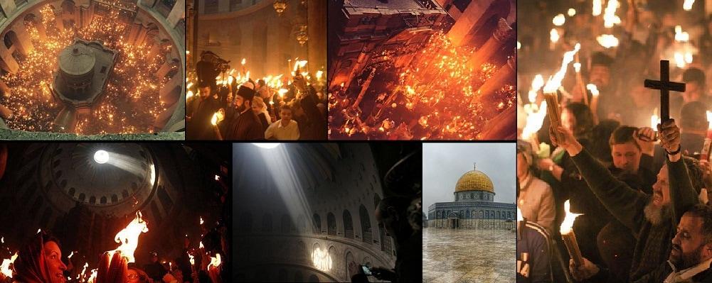Lumina Sfanta de la Ierusalim va fi adusa sambata cu un avion special de o delegatie a Patriarhiei Romane