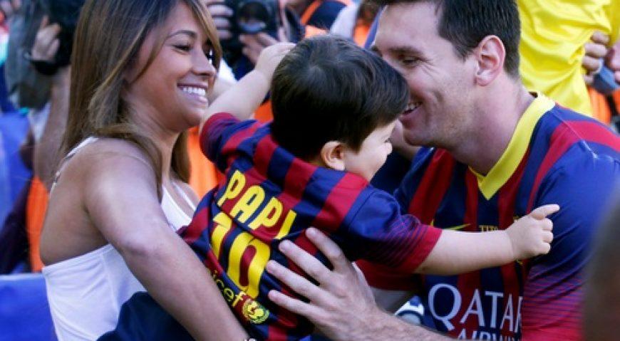 Messi si Antonella