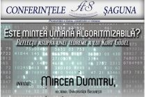 Mircea Dumitru, rector UBB, despre filosofia mintii, teoremele lui Goedel si algoritmizarea mintii