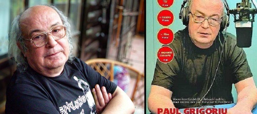 Paul Grigoriu a murit! Unul dintre cei mai buni oameni de radio din Romania a murit acasa!