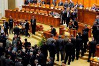 Motiunea de cenzura impotriva Guvernului Tudose a fost respinsa in Parlament. PSD a iesit din sala – UPDATE