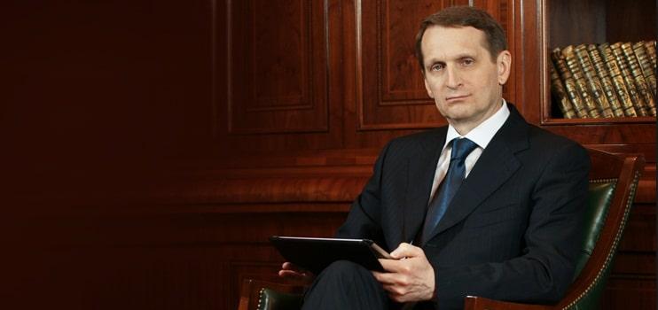 Presedintele Dumei de Stat: E timpul sa integram Uniunea Europeana in Uniunea Eurasiatica