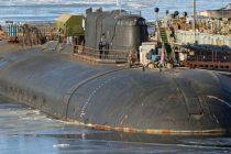 Un submarin nuclear a luat foc la un santier naval din Arhanghelsk, Rusia