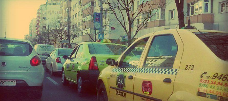 Acord intre taximetristi si Guvern, dupa ce transportatorii au blocat cateva ore Piata Victoriei