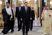 Victor Ponta s-a intalnit in Arabia Saudita cu regele Salman Bin Abdulaziz Al Saud. Vizita continua in Qatar, Kuweit si Emiratele Arabe