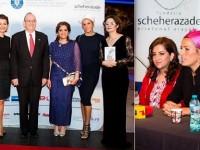 Miss World 1998 a vorbit la Gala Fundatiei Scheherazade despre combaterea violentei impotriva femeilor