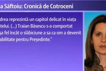 Adriana Saftoiu, Cronica de Cotroceni cu Traian Basescu, Elena Udrea si Emil Boc