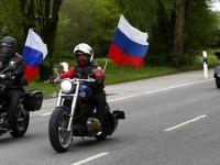 Motociclistii fideli ai Kremlinului, pe drumul Armatei Rosii spre Berlin