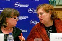 Renate Weber si Norica Nicolai, date afara din PNL pentru ca s-au afiliat la ALDE