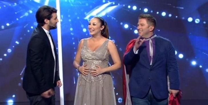 ROMANII AU TALENT, SEMIFINALA I DIN 8 MAI 2015: Andra, insarcinata si incredibil de frumoasa pe scena ROMANII AU TALENT de la Pro TV