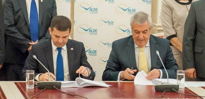 ALDE, noul partid rezultat din fuziunea PC cu PLR. Alegerile in cadrul ALDE vor avea loc in 2017