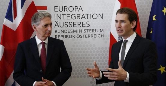 Austria ar putea reduce alocatiile pentru copiii romanilor, a anuntat ministrul Sebastian Kurz