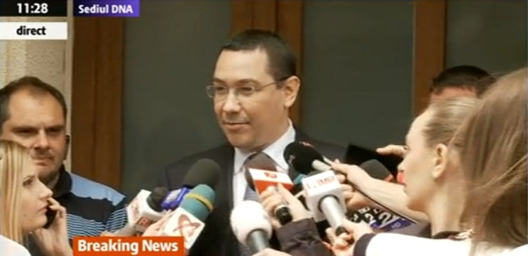 Ponta sustine ca un site de stiri din Romania a platit o agentie din SUA sa-l urmareasca in vacanta