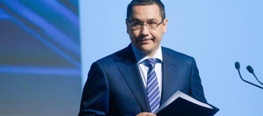 Ponta, reactie la condamnarea lui Dragnea: Nu trebuie sa-si dea demisia, trebuie sa tina partidul unit