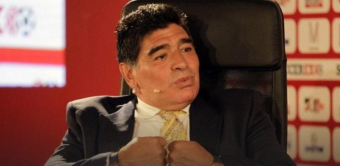 Maradona, candidat surpriza la functia de presedinte FIFA