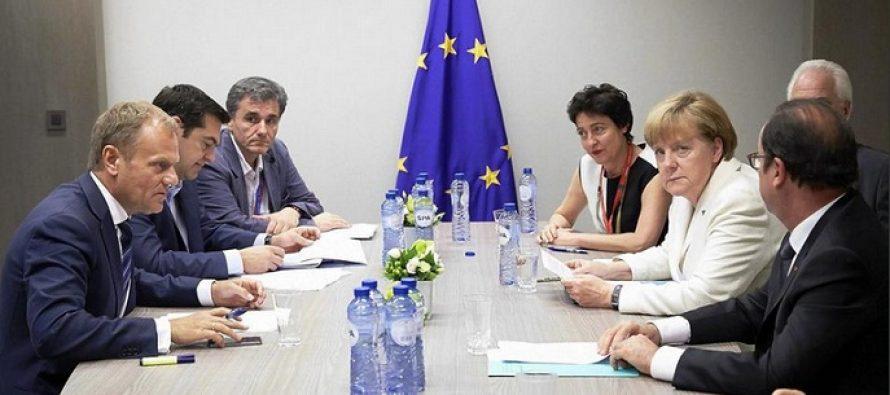 Acord pentru salvarea Greciei, dupa 16 ore de negocieri la Bruxelles. DECLARATII LIVE