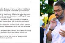 Iulian Capsali – Daca Grecia ar iesi din imbratisarea Troicai, toti sclavii idolatri ai Europei ar afla ca se poate si altfel