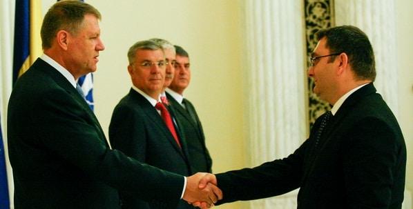 Iulian Matache a depus juramantul in functia de ministru al Transporturilor. Vezi primele declaratii