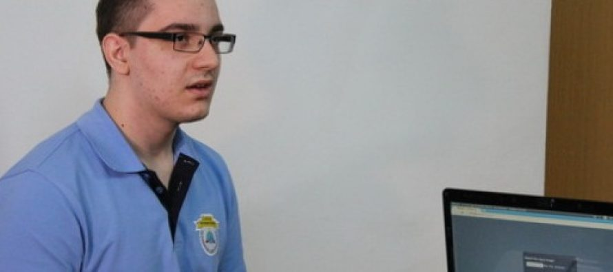 Dragos Serban, un elev din Constanta, a inventat un program de detectare a cancerului