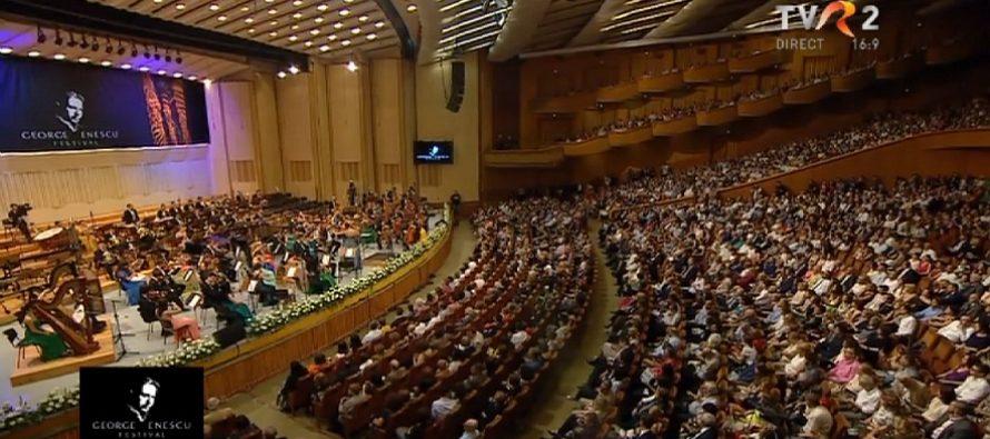 Festivalul George Enescu 2015: Organizatorii isi cer scuze pentru zgomotul care a perturbat concertele de sambata si duminica