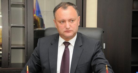 Igor Dodon a fost din nou suspendat temporar din functia de presedinte al Rep. Moldova
