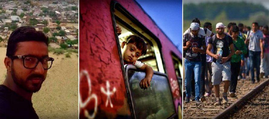 INTERVIU HOTWEEK. De ce cred refugiatii in Europa? Muhammad Talal: Pakistanul are putine locuri de munca. Nimeni nu vrea sa investeasca in tara mea