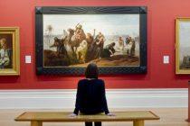 """Tabloul de Picasso """"ars in soba"""" a fost gasit intr-un sat din Tulcea. Este vorba despre tabloul Tete D'Arlequin, care a fost preluat de DIICOT"""
