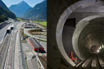 Elvetia a terminat lucrarile pentru cel mai mare tunel din lume, NEAT Gotthard Base Tunnel