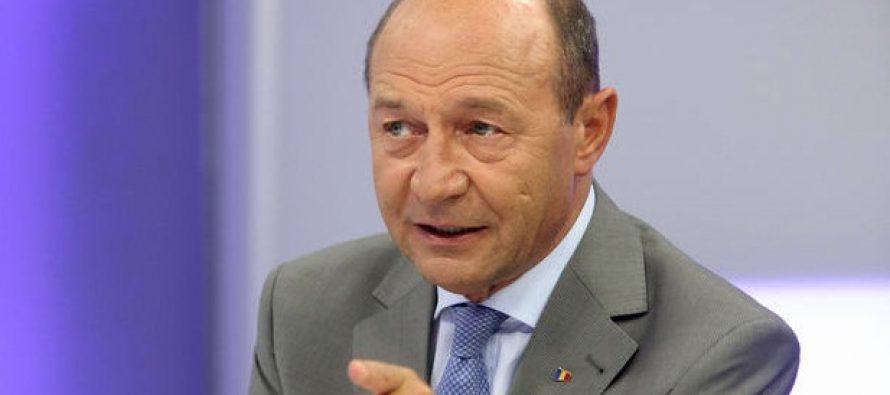 Basescu: Am constiinta impacata ca asupra efectelor derapajelor DNA am avertizat inca din 2015