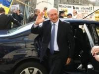Basescu, huiduit la Parchetul General in dosarul de santaj cu Gabi Firea