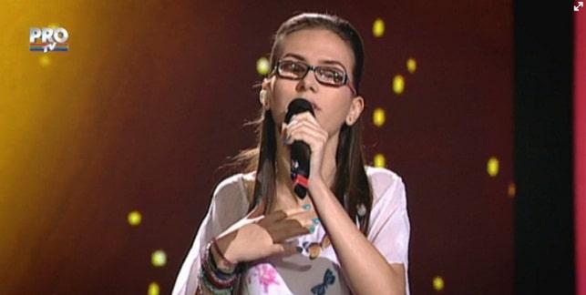 DIANA CAZAN, VOCEA ROMANIEI 2015. VIDEO. Diana are o voce magistrala