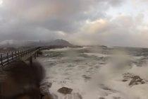 Drumul Atlanticului din Norvegia, cea mai periculoasa sosea din lume. VIDEO