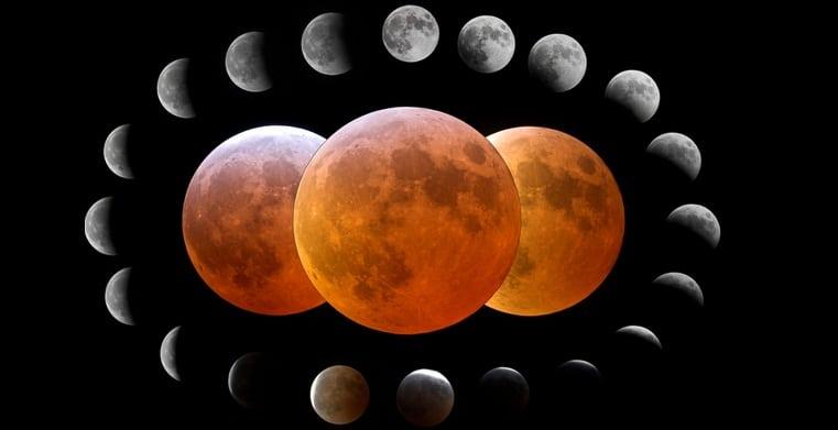 ECLIPSA DE LUNA PE 28 SEPTEMBRIE 2015. Cand se vede eclipsa de Luna in Romania