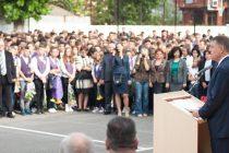 Klaus Iohannis, la deschiderea noului an scolar 2015-2016: Relansez educatia ca tema de dezbatere nationala