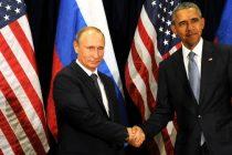 Putin si Obama au discutat o ora si jumatate. La final si-au strans mainile 13 secunde