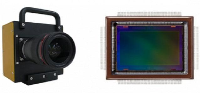 Senzor de 250 MP de la Canon care permite distingerea scrisului de pe un avion aflat la 18 km distanta