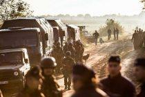 Ungaria si-a inchis frontiera cu Serbia. Refugiatii, obligati sa treaca pe campuri minate prin Croatia (presa)