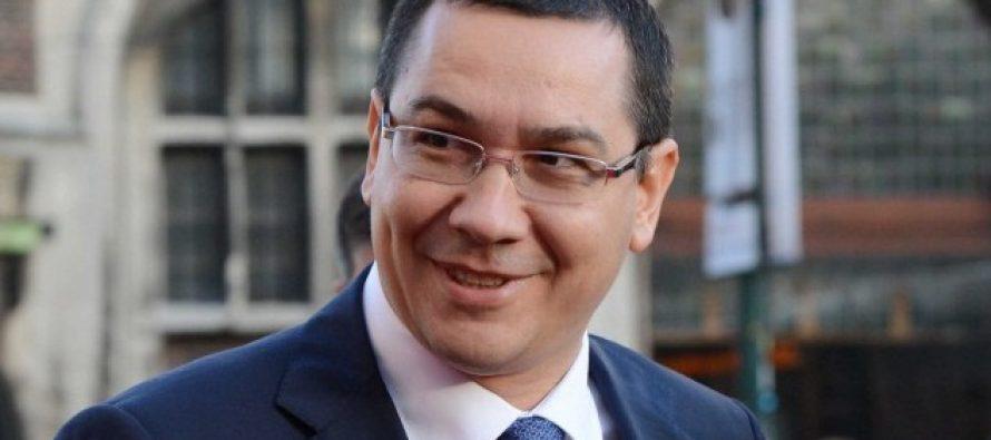 Victor Ponta: Dupa 5 zile a ajuns si Iohannis la serviciu si i-a raspuns lui Putin